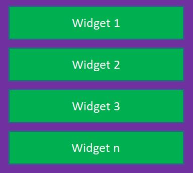 Flutter tutorial-column-structure