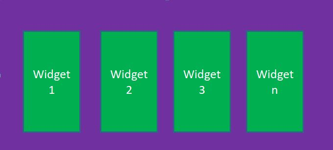 Flutter tutorial-row-structure